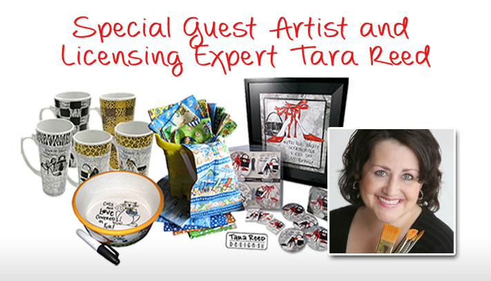 Secrets to Art Licensing Success – Interview with Tara Reed